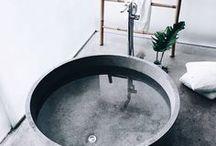 CONCRETE & CLEAN / Who said concrete is just floors?