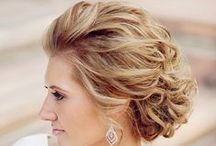 updos & styles / here you will find different styles- both up & down