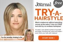 haircut ideas / by Lori Andrews