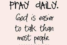 PRAY and Bible / by Clara