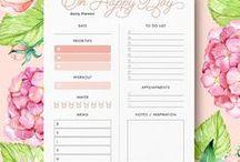 Printable Stuff / Free printable lists, illustrations and posters