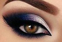 The Art Of Make Up / Eyeshadow, eyeliner, lipstick, blush and your face an empty canvas ready to be painted on and create art!