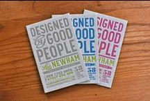 BRANDING & PACKAGING, DESIGNED BY GOOD PEOPLE / A selection of branding and packaging we have designed