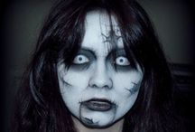 Halloween - Makeup  / Make Up and Special Effects / by Beren Dutra