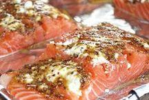 poissons coquillages et crustacés (recettes) / by agnès darmon