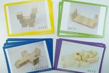 Vorlagen zum Bauen mit Spielgaben