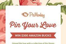PicMonkey Pin Your Love / #pinyourlove #picmonkey / by Stanley NKatrina