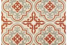 Odyssey patroontegels / Tegelpatronen geïnspireerd door Oosterse stijlen