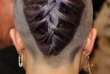 Hair style / hair, hair style,colorful ombre,hair accessories