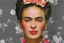 Frida Kahlo / Frida Kahlo,painter,artist,illustrator,paintress,Art,Diego Rivera,paint,painting