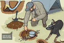 Camping tips and tricks.