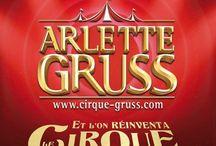 Et l'on réinventa le cirque ! By Arlette GRUSS / Moment d'exception de la tournée 2017 du Cirque Arlette GRUSS.