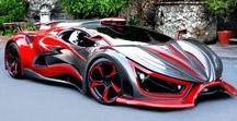 Inferno 'Exotic Car' Mexico / The car is the creation of Antonio Ferrarioli, a man who has designed components for Lamborghini