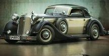 Horch / Horch [hɔʁç] was a car brand manufactured in Germany by August Horch & Cie, at the beginning of the 20th century.  It is the direct ancestor of the present day Audi company, which in turn came out of Auto Union, formed in 1932 when Horch merged with DKW, Wanderer and the historic Audi enterprise which August Horch founded 1910