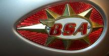 BSA / BSA motorcycles were made by The Birmingham Small Arms Company Limited (BSA) which was a major British industrial combine, a group of businesses manufacturing military and sporting firearms; bicycles; motorcycles; cars; buses and bodies; steel; iron castings; hand, power, and machine tools; coal cleaning and handling plants; sintered metals; and hard chrome process.