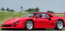 1988 FERRARI F40 David Gilmore / 1988 FERRARI F40 288GTO  A four-cam 3-litre V8 with four valves per cylinder, the F40 engine employed twin IHI turbochargers to liberate 478bhp (approximately 352kW) at 7,000rpm. Chassis number '78036' was purchased new by 'Pink Floyd' guitarist David Gilmour