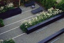 c o n t e m p o r a r y / Great examples of contemporary gardens / by Paul Heidrick