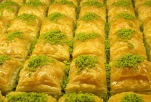 turkish food & drink / With a wide selection of the freshest fish, fruits and vegetables in the world, you will not leave Turkey hungry. The cuisine ıs spectacular. Some favorites include mezes, kebap, fish, and eggplant...and after every meal you will want to save room for desserts - like baklava!