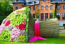 Flowers skulpture