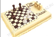 Chess cake /Sjakk kake
