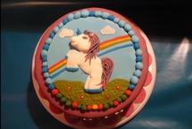 Filly/pony/unicorn/horse cake