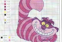 Cross-stitch. / Cutie cross stitch things to do for babies.