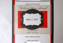 Wedding Invitations / Ideas for wedding invites
