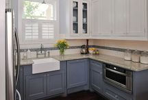 Home - Kitchen Ideas / Samples of kitchens, new, re-models and all things related to kitchens such as cabinets, etc.