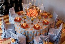 TABLE CENTERPIECES AND SETTINGS / Beautiful table decorating.