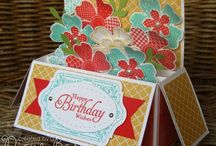 Stampin' Up! - Card in a Box / Samples of cards in a box