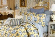 TOILE (pronounced twall) / A classic and stunning fabric. One of my very favorites. It never goes out of style.