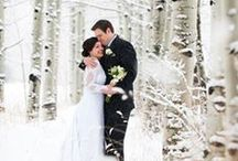 Winter Wonderland Weddings / Inspiration for a sparkling wintry wedding - from snowflakes to evergreens to subtle hints of the season.