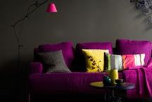 INTERIORS - Purple & pink
