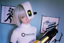 GLaDOS Cosplay / From Portal the game. I have a lot of inspiration pictures on this board. Mainly cyborg to help me design a unique cosplay.