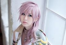 Lightning Cosplay / From Final Fantasy XIII