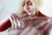 Female Titan Cosplay / From Attack on Titan