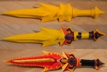 Weapon Tutorials / Using different methods to create weapons for cosplay
