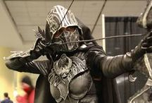 Skyrim Cosplay / From the game Skyrim. I would like to do the Nightingale armour. But there is a few other too.