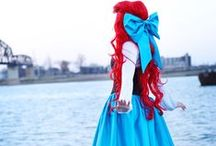 Ariel Cosplay / From the Disney movie The Little Mermaid