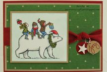 SU Holiday Catalogue 2014 / Cards and projects using Stampin' Up! Product from 2014-2015 catty and Holiday Catalogue 2014-2015