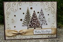 SU Festival of Trees retired 2017 / Projects and ideas using Festival of Trees stamp set and Tree Punch by SU
