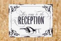 Wedding Reception / Ideas for your wedding reception - Decor, favors, entertainment, menus, and more.