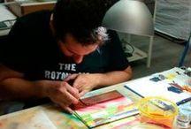 Lettering, Calligraphy & Pinstriping / Nos declaramos amantes incondicionales del pinstriping y del letering. We declare unconditional love for pinstriping y lettering.