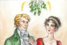 Regency English Christmas / A sense of the styles and traditions of the holidays during the Regency.