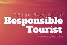 Ökotourismus / Ecotourism Tipps / Tips for responsible travel and ecotourism