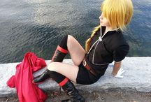 Genderbent Edward Cosplay / From Full Metal Alchemist. But a female version.