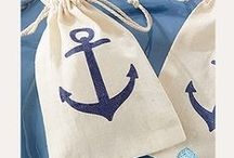 Nautical Nuptials / Inspiration for nautical themed weddings! From anchors to boats to details with rope, we've got everything you need to tie the knot!