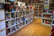 DISPLAYING DOLLS AND MORE