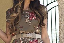 Dresses - Midi / Cute modest dresses from Christies Boutique. Check it also online: www.christiesboutique.ca