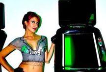 Body Paint con Aerógrafo / Airbrush Body Paint / Trabajos de Body Paint profesionales con aerógrafo para eventos.